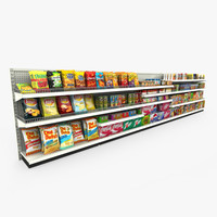 grocery shelves - retail max
