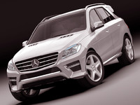 Mercedes M class AMG package