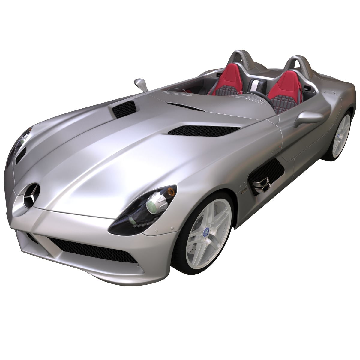 3d mercedes stirling moss model