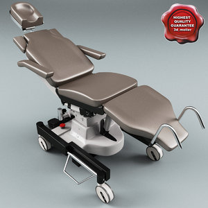 3ds max mobile operating table ufsk