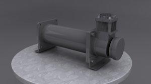 air compressor ride 3d model
