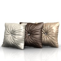 cushion pillow obj