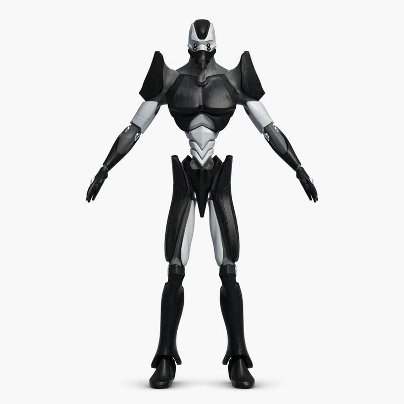 Anime Robot: Max Robot Anime Eva