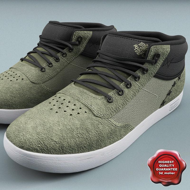 c4d skate shoes globe odin