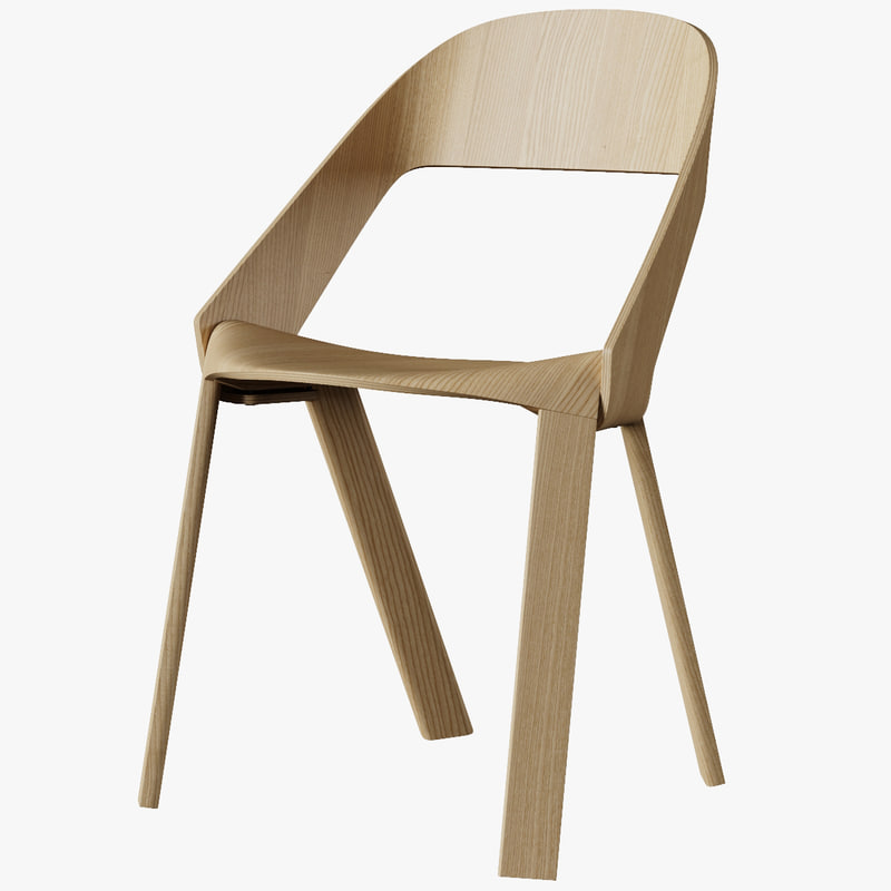 wogg 50 chair wood 3d max