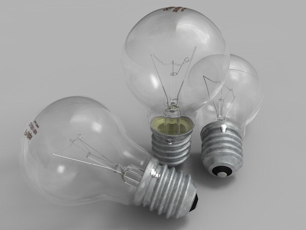 3d resolution lightbulb