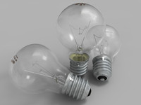 Light Bulb (Photorealism)