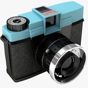 3d diana camera model