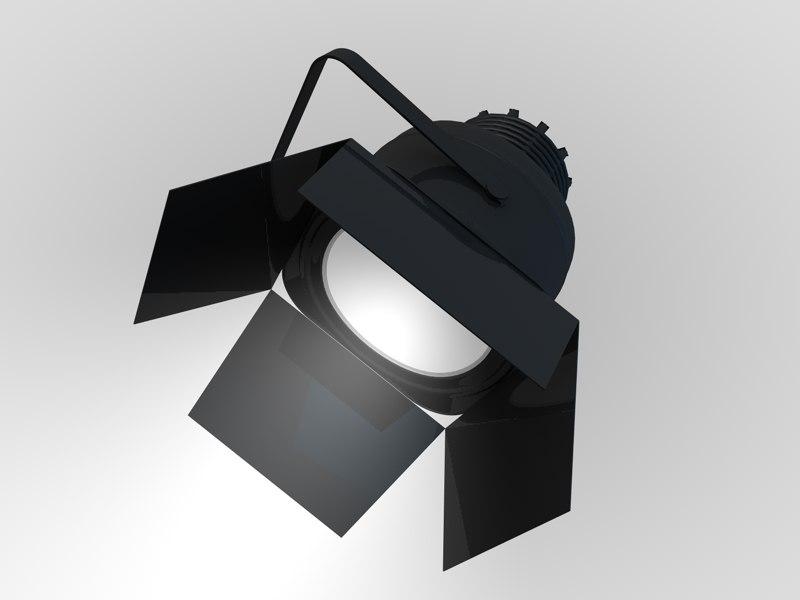 spot light studio 3d c4d