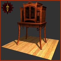 indoor furniture 3d model
