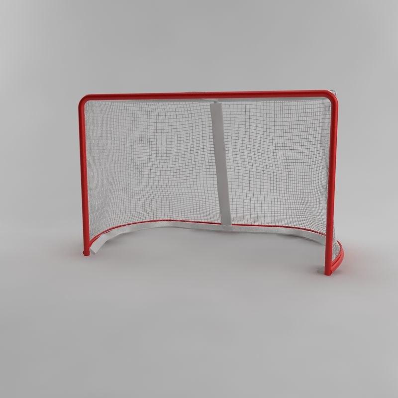 3d model hockey cage