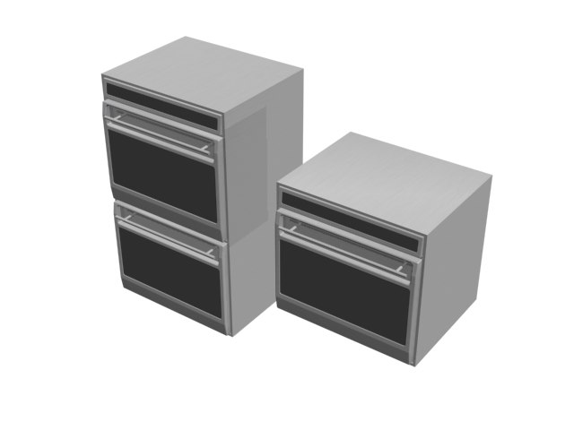 3ds max double oven wolf