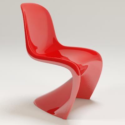 pantone chair 3d max