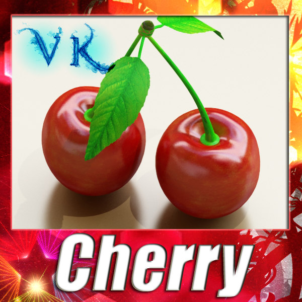3d model of cherry resolution