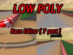 3d model race editor