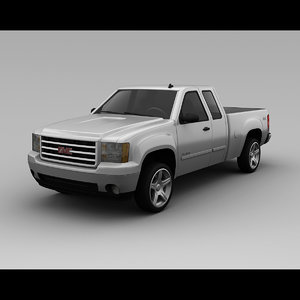 gmc c1500 4 door 3d 3ds