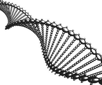 3d molecular dna animation model
