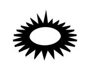 3d sun clock model