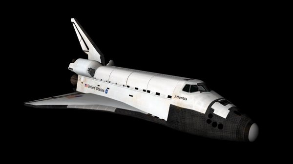 space shuttle obj