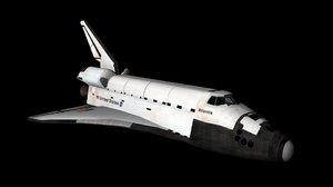 space shuttle obj
