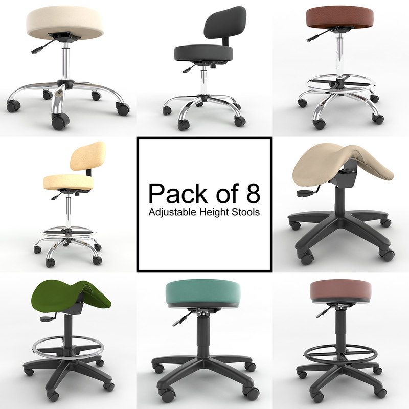 3d pack 8 adjustable height