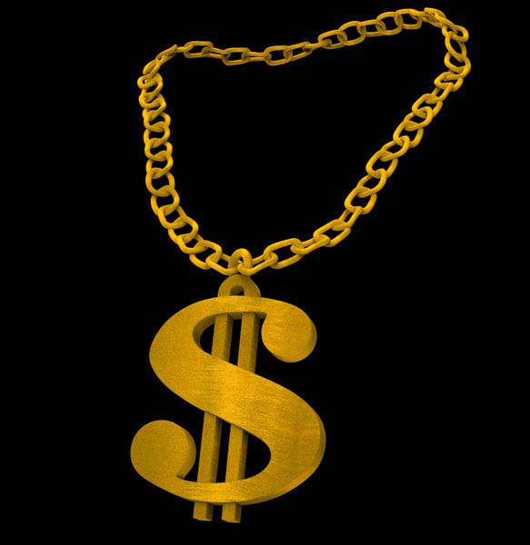 obj gold chain