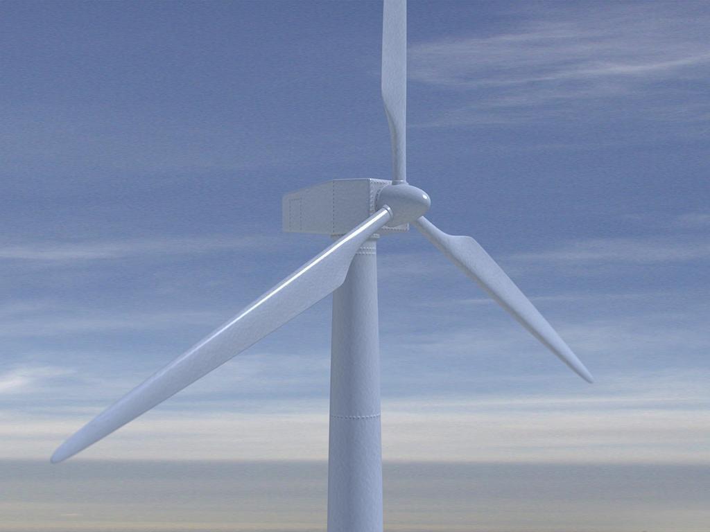 3d model wind windmill