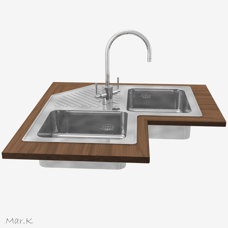 sink tap 3ds