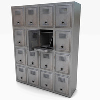 Metal Bank Lockers