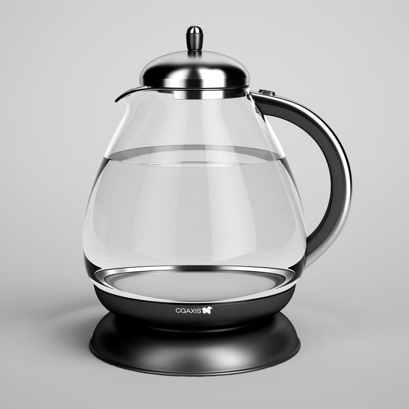 electric kettle 03 obj