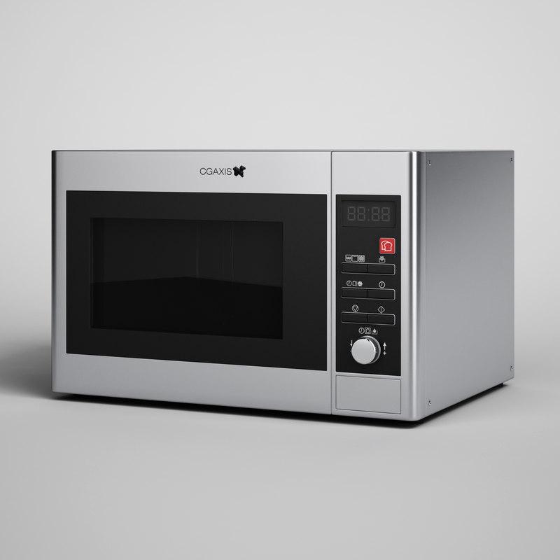 microwave 11 3d model