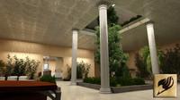 max interior lobby entrance
