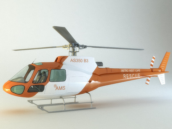 max accurate helicopter as350 b3