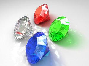diamond 3d obj