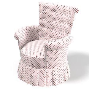 3d dolfi chair armchair