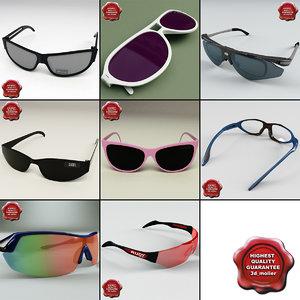 glasses v3 3d model