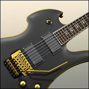 guitar mockingbird pro x 3d max