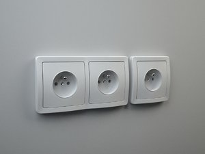 3d outlets switches model