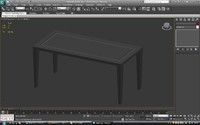 free table 3dx 3d model