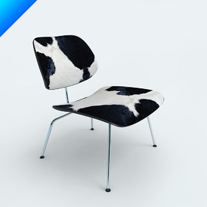 3d chairs eames plywood lcm model