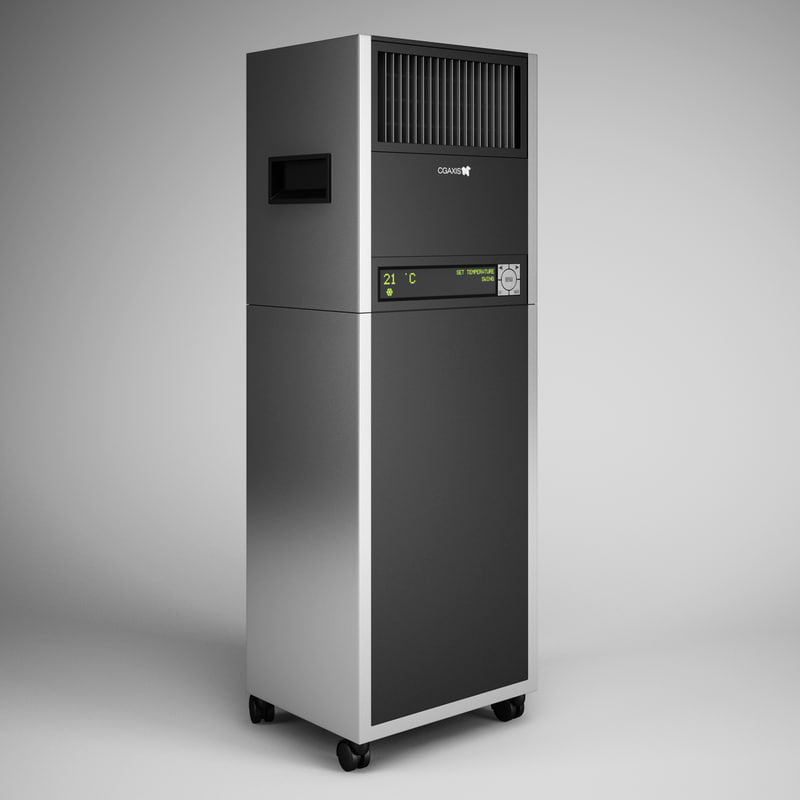 3ds max standing air conditioner 06