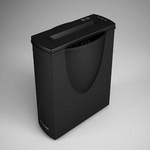 3d home paper shredder 17 model