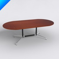 Eames Oval Table Laminate Top