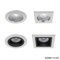 onok recessed spotlights lights 3d max