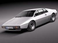 Lotus Esprit S1 1976-1980