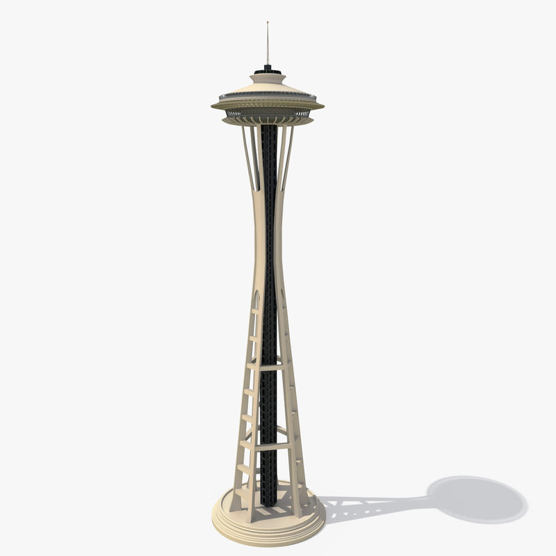3d space needle