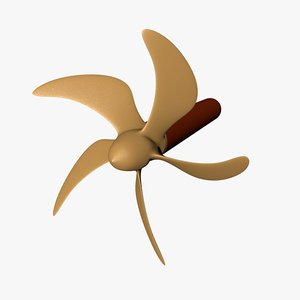 3d ship propeller