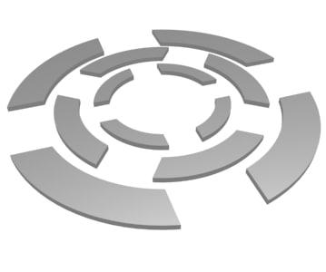 3d model of funnel preloader