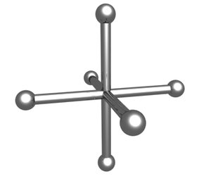 3d model linear star