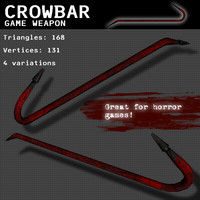 Crowbar Weapon